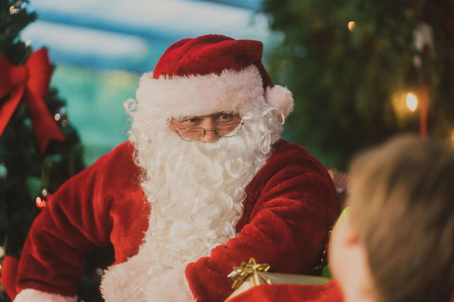 Santa at Golden Grove Christmas Event