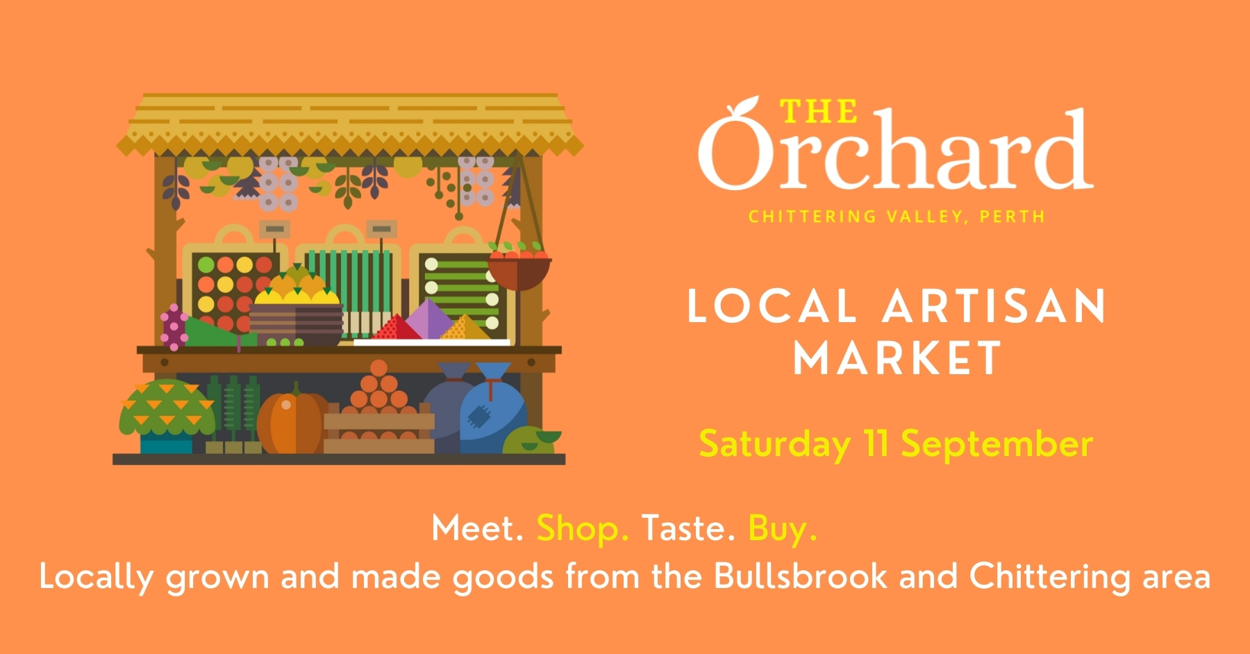 Local Artisan Market - The Orchard Perth